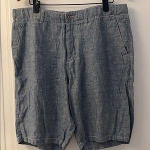 """Lucky Brand men's linen shorts. Size 36"""" waist"""